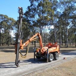 COMMANDO DRILL RIG FOR SALE – Commando 120E (Year 2003) Unit #14 PRICE  $96,000.00 PLUS Gst