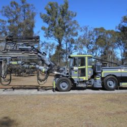 "ATLAS COPCO  M2D DRILL ""GREY GHOST"" – TWIN BOOM – UNIT #69 – YEAR 2011"