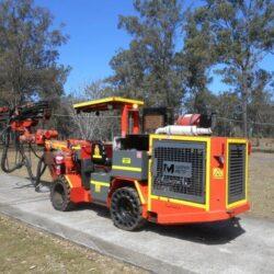 Tamrock Quasar – Single Boom Diesel Hydraulic Jumbo